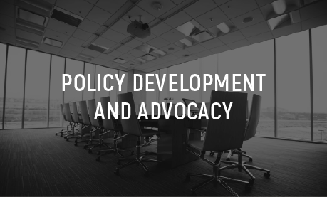 Policy Development and Advocacy