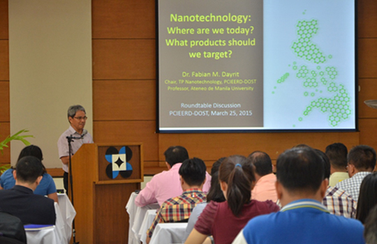 fabian dayrit on nanotechnology